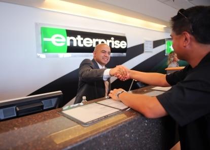 Enterprise Rent A Car Service Agent